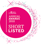 Cheshire Annual Awards 2018 logo